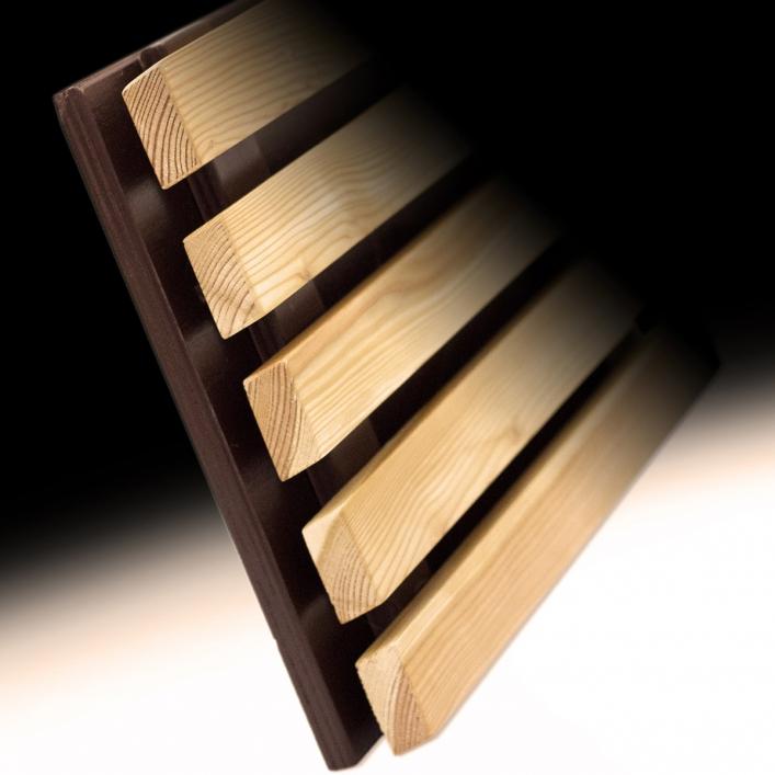 Profilo a listelli romboidali piallati